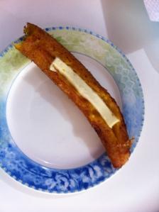 Plantano con queso - I had to try it.