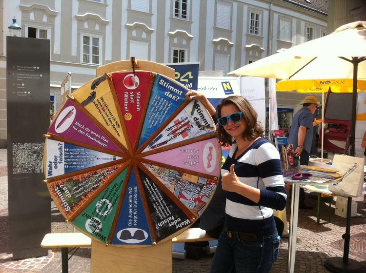 Jugendinfo Noe spin the wheel