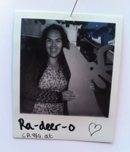 Lettice Polaroid photo