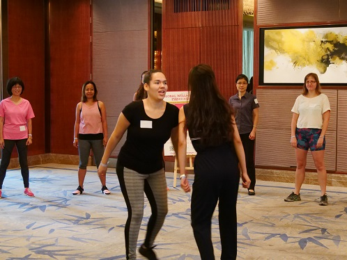Global Wellness Day 2018 Laughter Yoga
