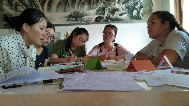 Lettice teaching